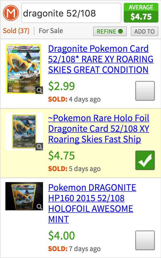 Free Price Guide for Pokemon Card Values | CardMavin