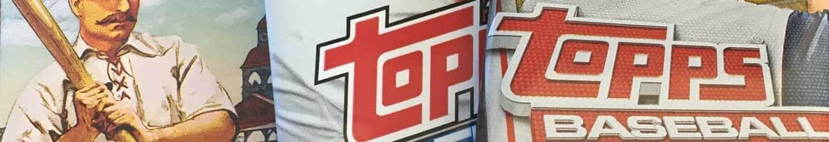 Packs of Topps baseball cards