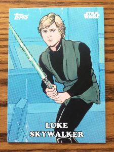 Front of Star Wars card I'm looking up the value of