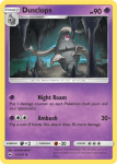 Sun and Moon Burning Shadows card 52