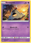Sun and Moon Burning Shadows card 61