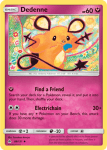 Sun and Moon Forbidden Light card 88