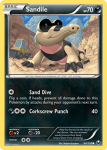 Black and White Dark Explorers card 64
