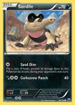 Black and White Dark Explorers card 64