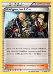 Black and White Dark Explorers card 95