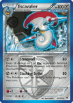 Black and White Plasma Blast card 61