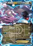 Black and White Plasma Blast card 66