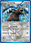 Black and White Plasma Blast card 76