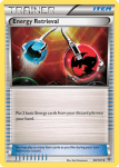 Black and White Plasma Blast card 80