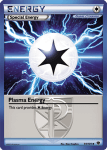 Black and White Plasma Blast card 91