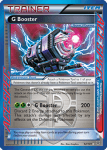 Black and White Plasma Blast card 92