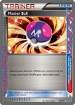 Black and White Plasma Blast card 94