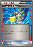 Black and White Plasma Blast card 95
