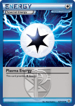 Black and White Plasma Storm card 127