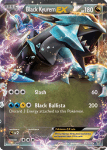 Black and White Plasma Storm card 95