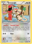 XY BREAKthrough card 123