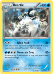 XY Furious Fists card 22