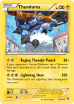 XY Furious Fists card 33