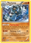 XY Furious Fists card 46