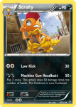 XY Furious Fists card 67