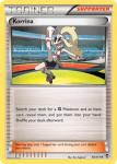 XY Furious Fists card 95