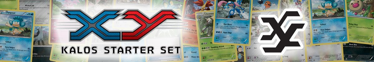 Pokemon XY Kalos Starter Set list