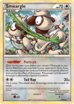 HeartGold and SouldSilver Call of Legends card 21
