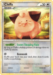 HeartGold and SouldSilver Call of Legends card 24