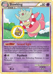 HeartGold and SouldSilver Call of Legends card 32
