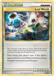 HeartGold and SouldSilver Call of Legends card 81