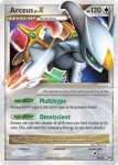 Platinum Arceus card 94