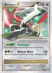 Platinum Arceus card 95