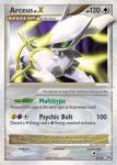 Platinum Arceus card 96