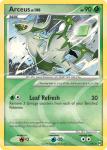 Platinum Arceus card AR2
