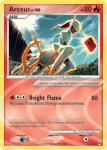 Platinum Arceus card AR3