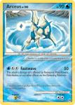 Platinum Arceus card AR4