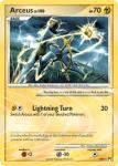 Platinum Arceus card AR6