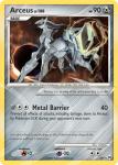 Platinum Arceus card AR9