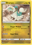 Sun and Moon Dragon Majesty card 51