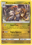 Sun and Moon Dragon Majesty card 54