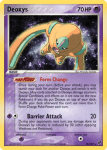 EX Deoxys card 18