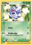 EX Ruby and Sapphire card 54