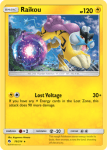 Sun and Moon Lost Thunder card 79