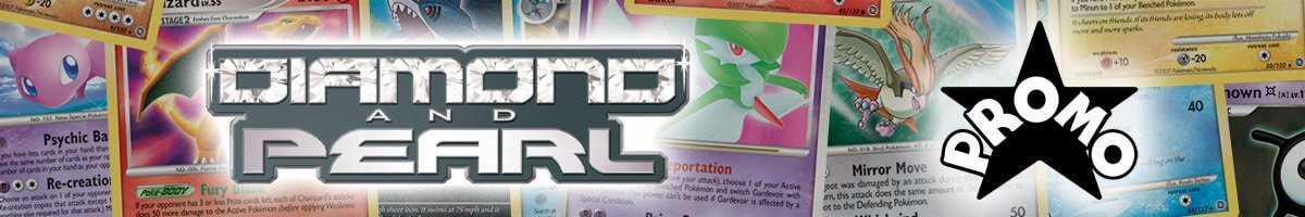 Pokemon Diamond and Pearl Promo set logo and symbol