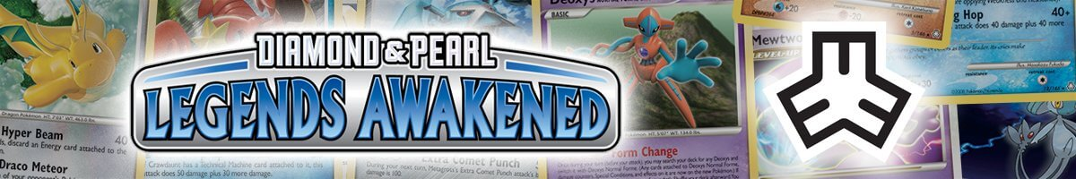 Pokemon Legends Awakened set logo and symbol