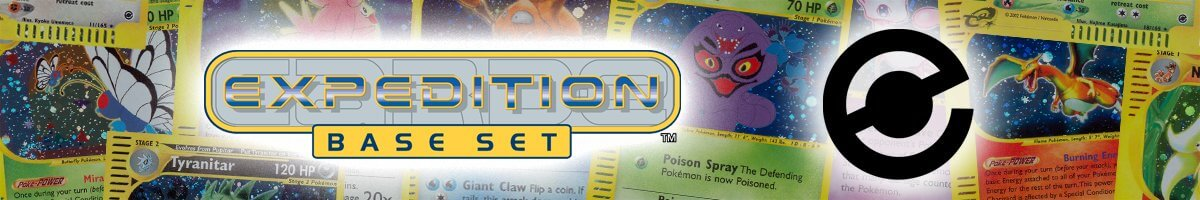 Pokemon Expedition Base Set logo and symbol