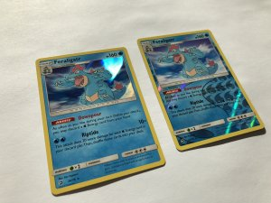 Feraligatr Holo and Reverse Holo Dragon Majesty 24/70