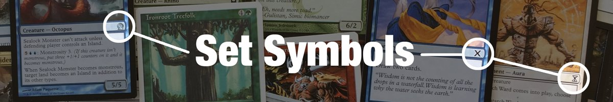 Magic Card Set Symbols