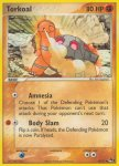 Pokemon POP Series 1 card 10