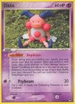 Pokemon POP Series 3 card 12